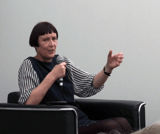 Cornelia Parker and Dr Maria Balshaw