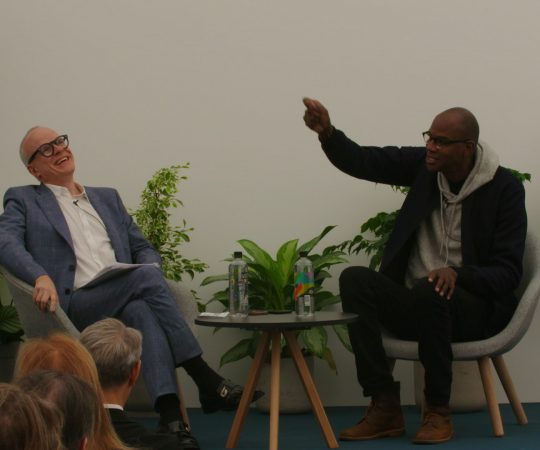 Mark Bradford in conversation with Hans-Ulrich Obrist