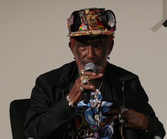 Lee Scratch Perry with Adrian Sherwood