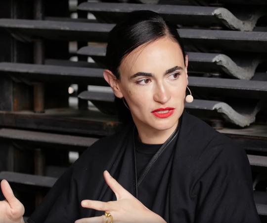Frida Escobedo in conversation